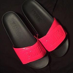 Pink Victoria's Secret sandals NWOT❗️